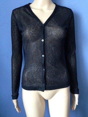 adessa Cardigan tricotés noir-argenté polyester
