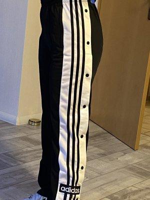 Adidas pantalonera negro-blanco