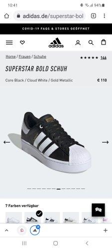 Adidas Wysokie trampki biały-czarny