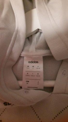 Adidas Originals Capuchon sweater wit