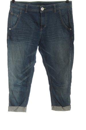 Adidas 3/4 Jeans blau Casual-Look