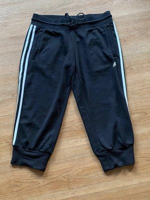 Adidas Spodnie sportowe czarny-biały