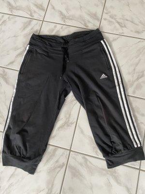 Adidas 3/4 Sporthose schwarz