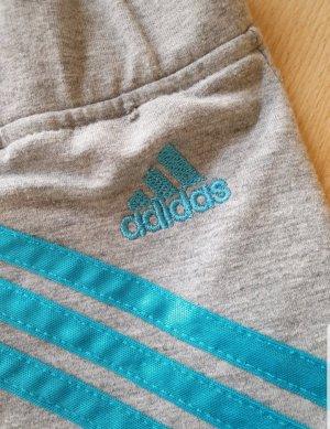 Adidas Pantalone a 3/4 grigio-azzurro