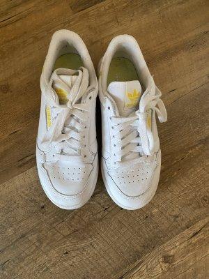 Adidas Chaussure skate blanc-jaune
