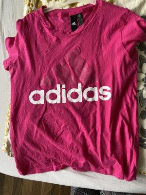 Adidas T-shirt rose fluo-rose