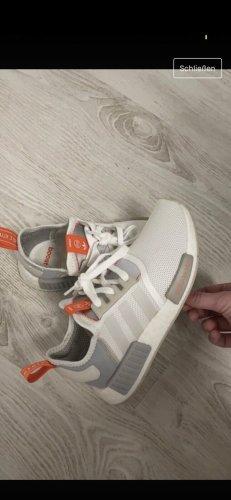 Adidas Sneakers met veters wit-oranje