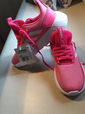 Adidas Basket à lacet rose