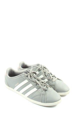 Adidas Sneakers met hak lichtgrijs-wit casual uitstraling