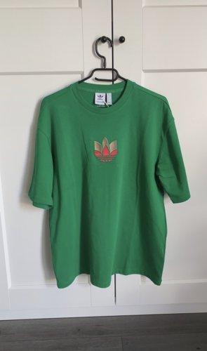 Adidas T-shirt groen-bos Groen