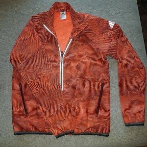 Adidas Adizero Sportswear Blouson Orange Schwarz M  Sportjacke Übergangsjacke Trainingjacke