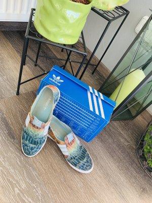Adidas Adria Slip On Sneaker blau beige 38
