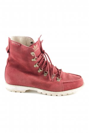 Adidas Ankle Boots rot Casual-Look