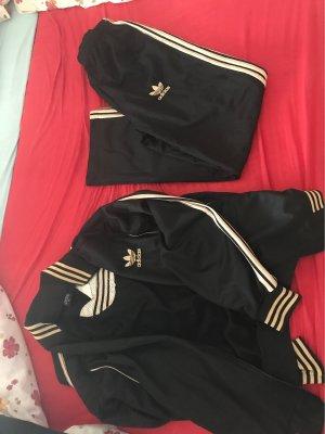 Adidas Pantalon goud-zwart