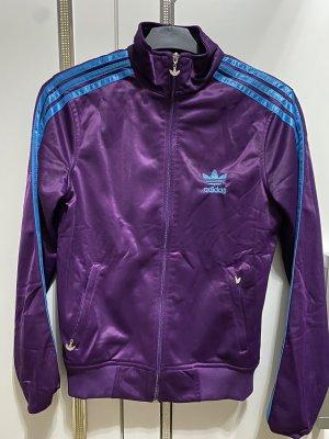 Adidas Vrijetijdspak donkerpaars-blauw