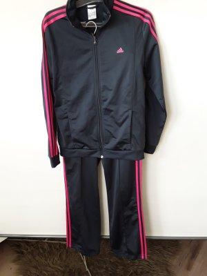 Adidas Originals Vrijetijdspak zwart-roze Polyester
