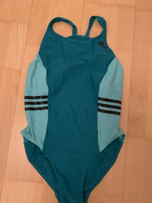 Adidas Strój kąpielowy czarny-morski