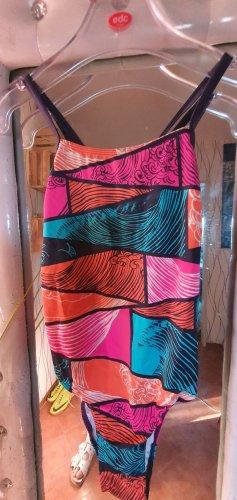 Adidas Costume da bagno arancione-rosa