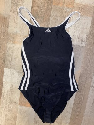 Adidas Maillot de bain noir-blanc