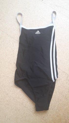Adidas - Badeanzug - schwarz & weiß - Rückenfrei - Gr. 36