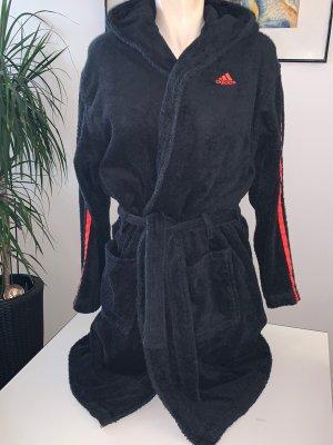 Adidas Originals Szlafrok czarny-pomarańczowy neonowy