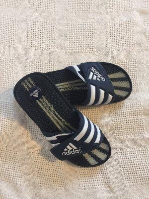 Adidas Sandalo da spiaggia nero-bianco