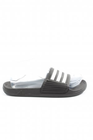 Adidas Badeslipper schwarz-weiß Casual-Look