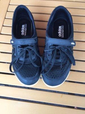 Adidas Ballerines à lacets noir