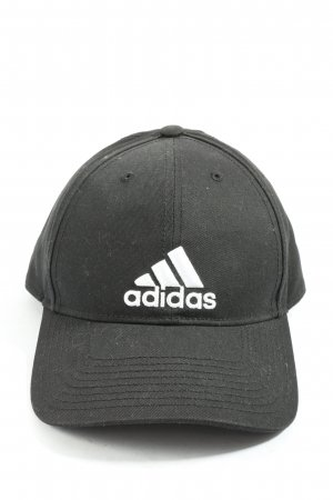Adidas Baseball Cap black-white themed print athletic style