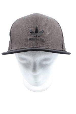Adidas Baseballówka brązowy-czarny Wyhaftowany logo W stylu casual
