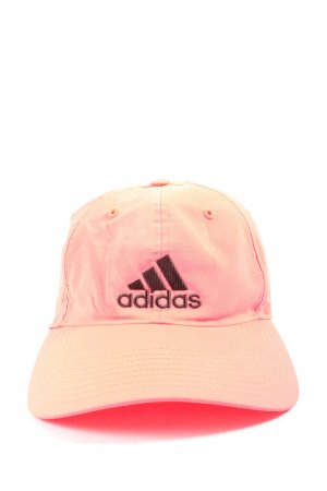 Adidas Baker's Boy Cap pink-black casual look