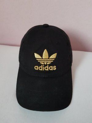Adidas Baseball Cap black-gold-colored