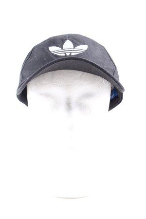 Adidas Baseballówka czarny Nadruk z motywem W stylu casual