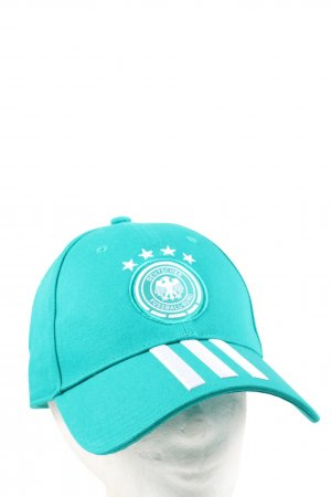 Adidas Baseball Cap turquoise-white casual look