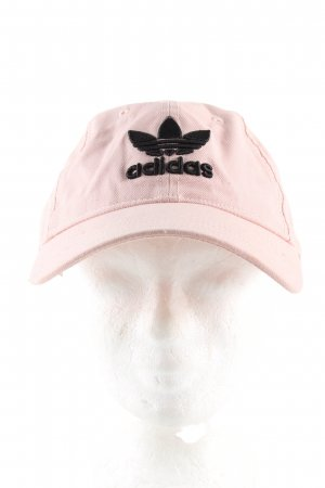 Adidas Baseball Cap pink themed print casual look
