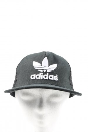 Adidas Baseball Cap black-white casual look