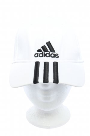 Adidas Baseball Cap white-black embroidered lettering casual look