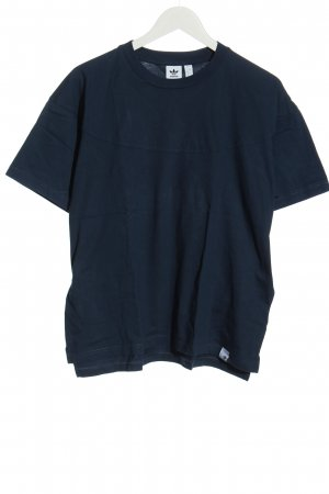 Adidas Basic-Shirt blau Casual-Look
