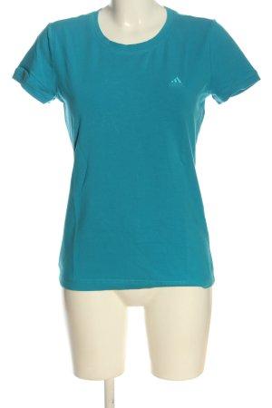 Adidas Shirt basique bleu style décontracté