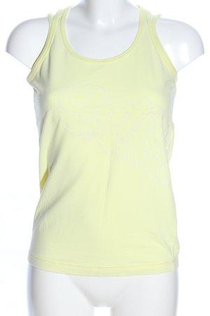 Adidas Basic Top blassgelb Casual-Look