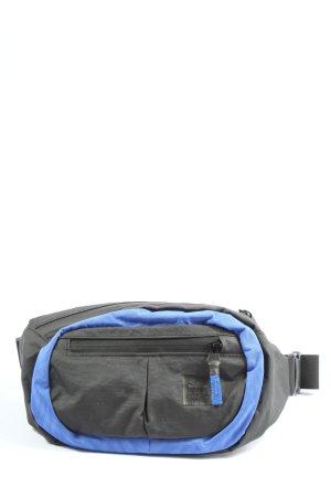Adidas Bauchtasche schwarz-blau Casual-Look