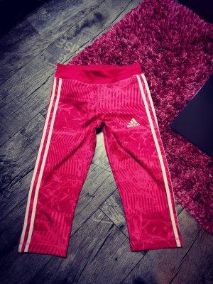 ADIDAS ♥  Bequeme sportliche Leggings, 3/4 Länge, pink Gr. 164 XS 34