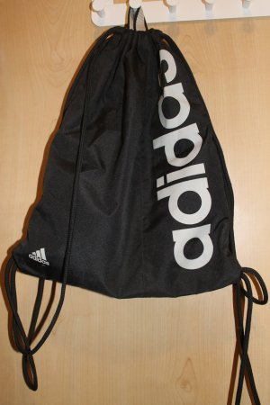 Adidas Bolso tipo marsupio negro-blanco tejido mezclado