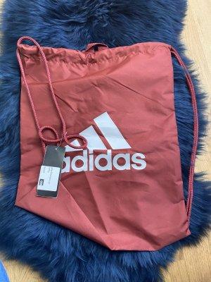 Adidas Borsellino marrone-rosso