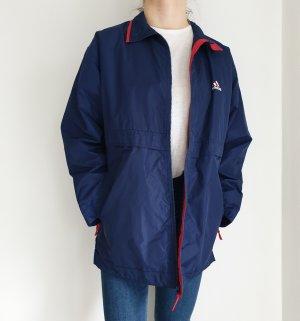Adidas Blau True Vintage Jacken Übergangsjacke Winterjacke sportjacke Mantel Trenchcoat Oversize