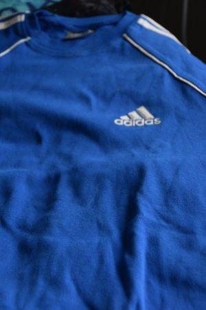Adidas Originals Sportshirt blauw-wit Katoen