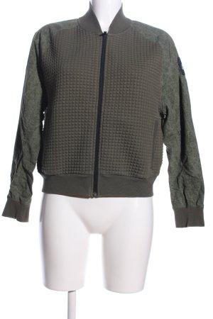 Adidas Blouson khaki-braun meliert Casual-Look