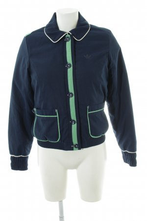 Adidas Blouson blau-grün Casual-Look