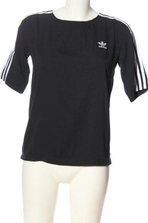 Adidas Blusa Camisa negro look casual