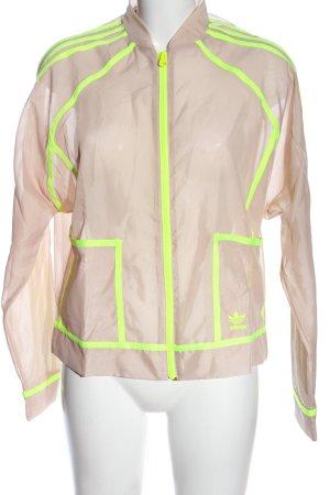Adidas Chaqueta bomber blanco puro-verde look casual